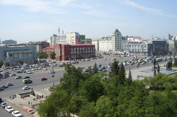 Какое место занимает новосибирск по площади